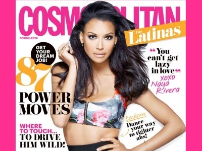 Naya Rivera Covers 'Cosmopolitan Latinas', Talks Stripper Poles & Sex With Big Sean