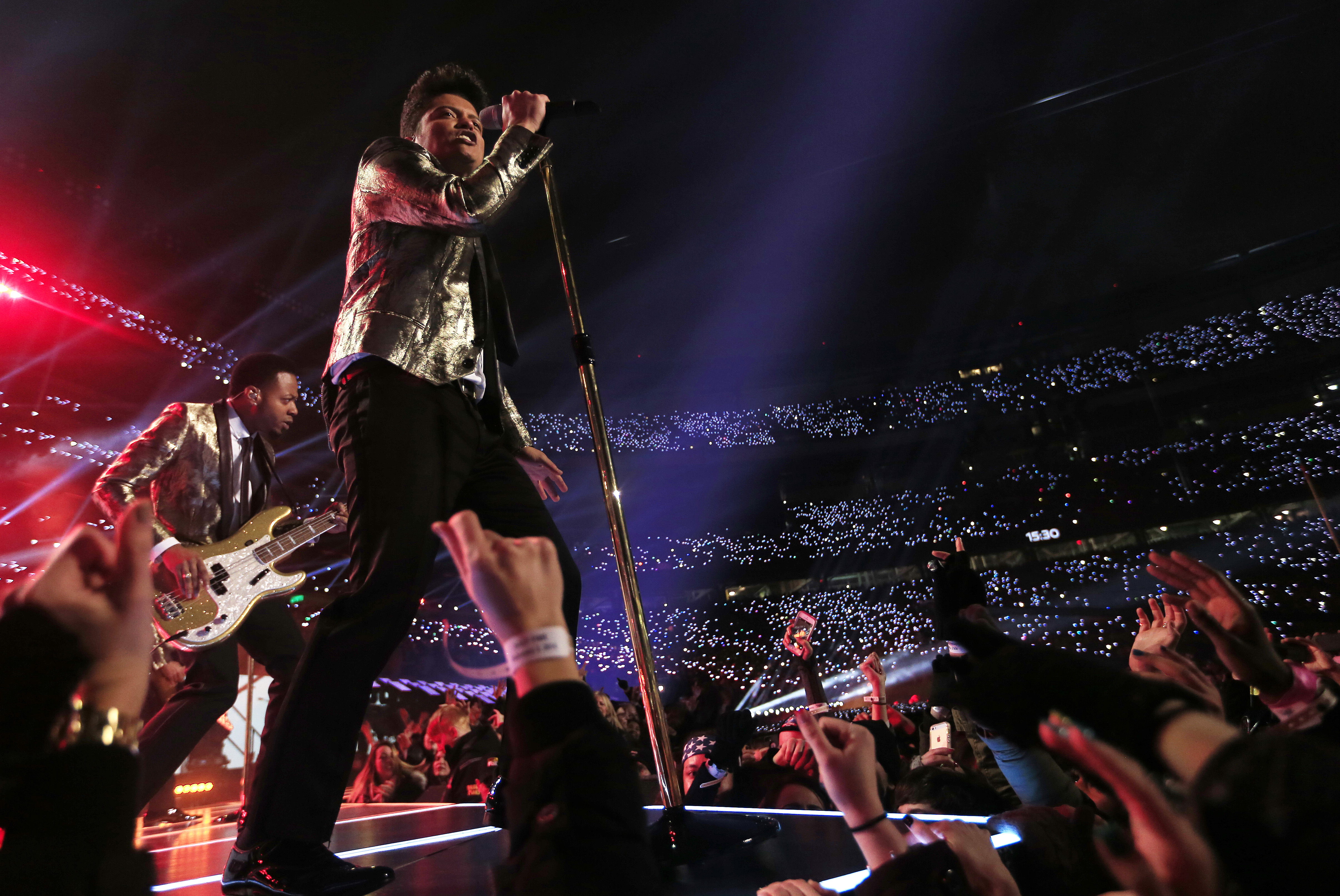 Bruno Mars' Super Bowl Halftime Show Tops Beyonce, Madonna For Record Number Of Viewers