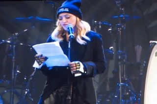 Madonna Introduces Pussy Riot At Amnesty International Concert In New York: Watch