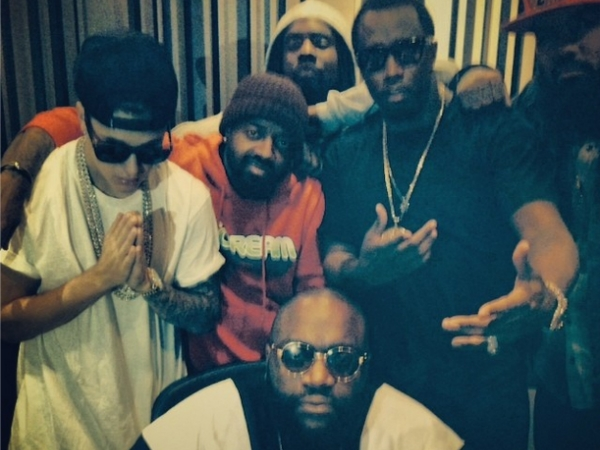 rick ross justin bieber diddy