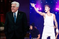 Jay Leno Pokes Fun At Justin Bieber In Final 'Tonight Show' Monologue: Watch