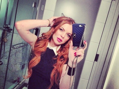 Lindsay Lohan Briefly Revives Music Career With Stellar Stevie Nicks Cover: Watch