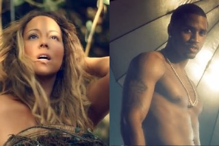 """Mariah Carey's """"You're Mine (Eternal)"""" Video Gets The Trey Songz Remix, Too: Watch"""