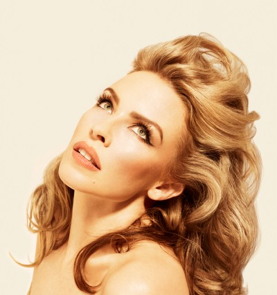 Kylie Minogue Into The Blue Kiss Me Once promo photo
