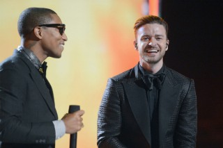 "Pharrell & Justin Timberlake Reunite On ""Brand New"": Listen To The 'G I R L' Track"