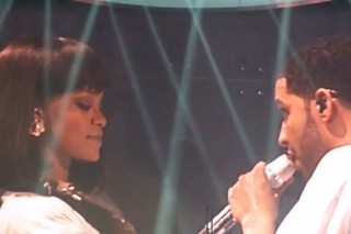 "Drake Brings Out Rihanna For ""Take Care"" In Paris: Watch"