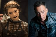 """Bruce Springsteen Covers Lorde's """"Royals"""": Watch"""