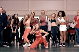 "Little Mix's ""Word Up"" Video: Watch Melanie C Crash The Girls' Campy Sports Relief Clip"