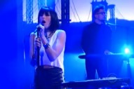"""Watch Phantogram Perform """"The Day You Died"""" On 'Letterman'"""