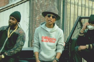 "Pharrell, Future & Pusha T Chill In ""Move That Dope"" Video: Watch"