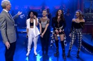 "Little Mix Make David Letterman ""Move"": Watch"