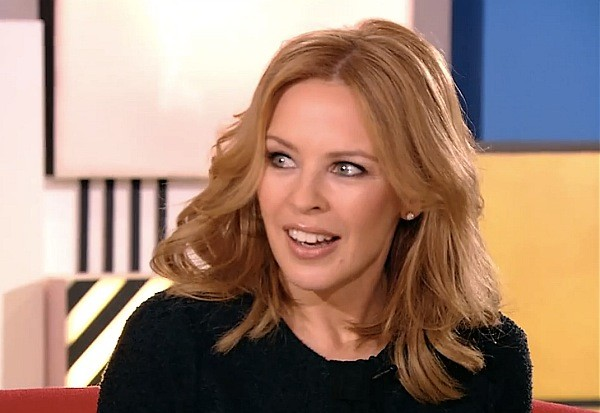 kylie minogue facebook interview into the blue kiss me once ricky wilson kaiser chiefs the voice main