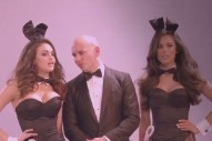 "Pitbull And G.R.L. Take Over The Playboy Mansion (And Miami): Behind The Scenes Of ""Wild Wild Love"""