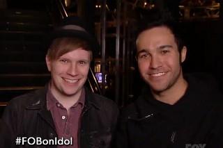 'American Idol' Recap: Fall Out Boy's Pete Wentz & Patrick Stump Give Advice, Caleb Johnson Rocks Out