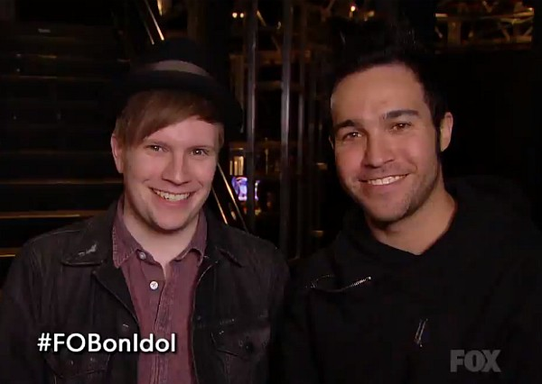 fall out boy american idol 2014 patrick stump pete wentz