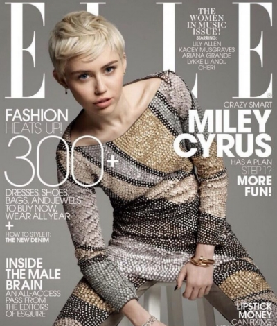 miley cyrus elle cover top