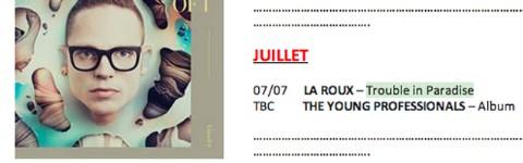 la roux new album