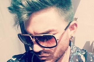 Adam Lambert Dyed His Hair Green: Morning Mix
