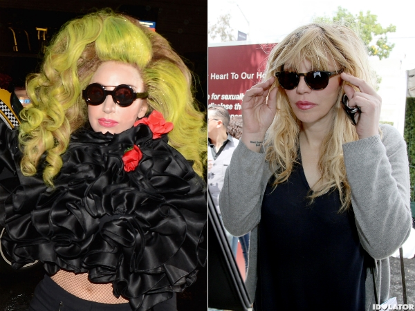 lady gaga courtney love