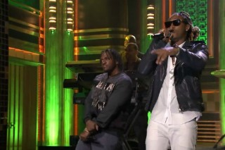 "Future & Pusha T ""Move That Dope"" With Help From The Roots On 'Fallon': Watch"