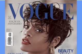 Rihanna Goes Naked (Topless Breasts, Y'all!) For 'Vogue' Brazil: See Her Latest Sexy Boob Shots That Are Totally Non-Porn