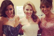 When Pop Divas Collide: Kylie Minogue, Dannii Minogue And Paula Abdul Mingle At The Logies