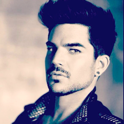 Adam Lambert headshot promo photo