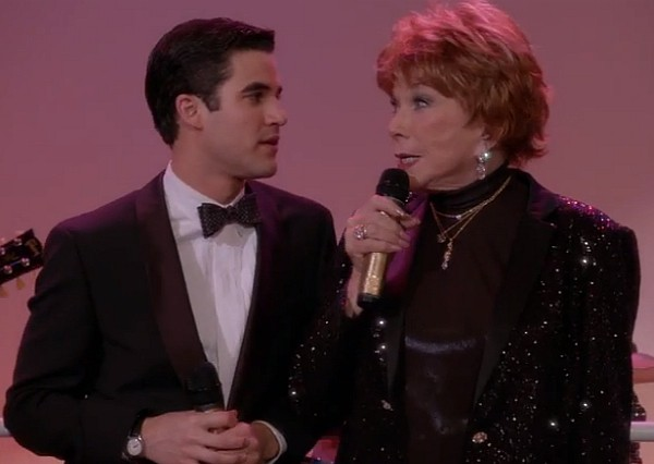 Glee 2014 Shirley Maclaine Darren Criss June Dolloway Back Up Plan