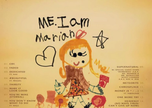me i am mariah drawing