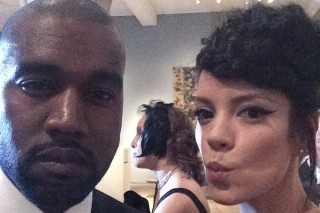 2014 Met Gala: Sheezus Lily Allen Takes Selfie With Yeezus Kanye West, Life Can Go Back To Normal