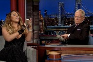Mariah Carey Talks 'Me. I Am Mariah' Album Delays On The 'Late Show', Has A Smart Phone Meltdown: Watch
