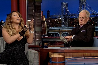 Mariah Carey Talks 'Me. I Am Mariah' Album Delays On The 'Late Show', Has A Smart Phone Meltdown: Watch