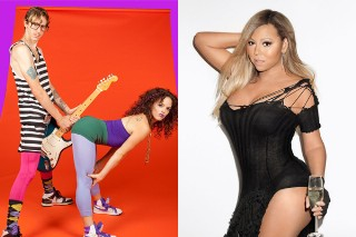 "Mariah Carey's ""Thirsty"" Hook Was Lifted From Purple Crush? The Pop Duo Certainly Thinks So"