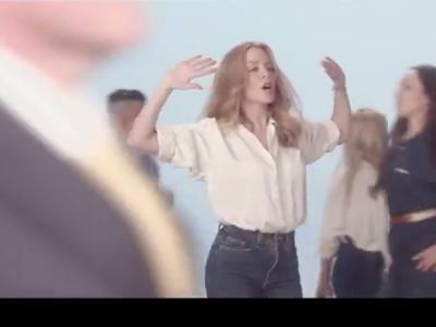 """Kylie Minogue's """"I Was Gonna Cancel"""" Video Is Literally Pedestrian: Watch"""