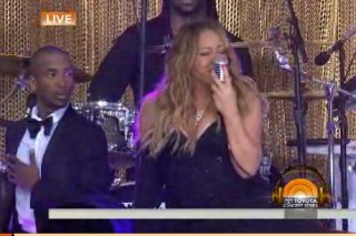 "Mariah Carey & Wale Debut ""You Don't Know What To Do"" On 'TODAY': Watch"