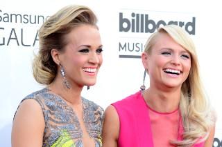 Billboard Music Awards 2014: Power Couple Carrie Underwood And Miranda Lambert