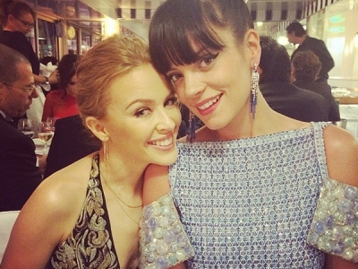 Kylie Minogue And Lily Allen Hung Out At The Cannes Film Festival