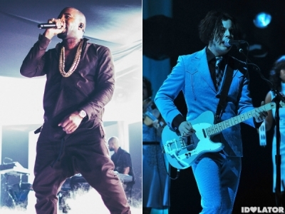 Kanye West & Jack White Almost Worked Together On 'Yeezus'