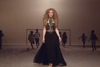 "Shakira's World Cup Anthem ""La La La (Brazil 2014)"" Gets A Football-Themed Video: Watch"