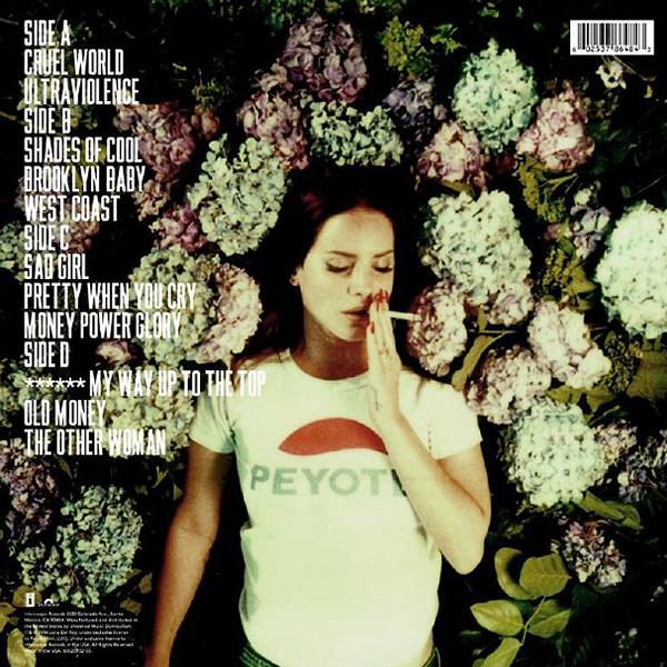 Lana Del Rey S Ultraviolence Will Get An Exclusive Vinyl