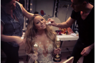 Mariah Carey Arrives (More Than) Fashionably Late To The World Music Awards