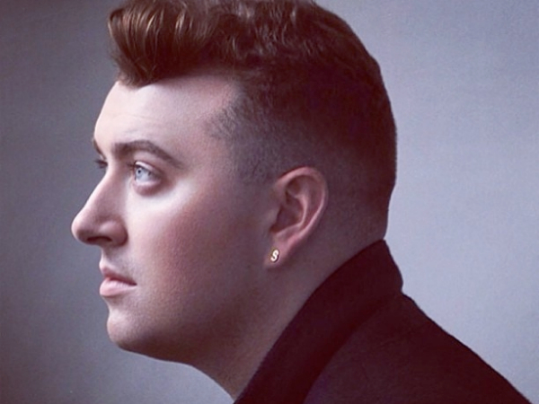 Sam Smith promo photo profile view