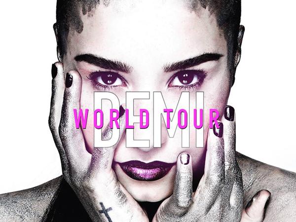 Demi Lovato Announces Her 'Demi World Tour', See The Diva's New North American Dates