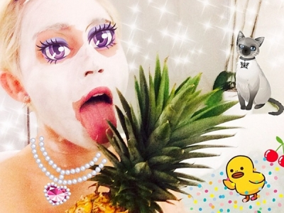 Miley Cyrus' Selfies Are Works Of (Highly Disturbing) Art: See Her 12 Scariest Self-Portraits