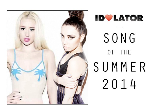 Idolator Song Of The Summer Iggy Azalea Charli XCX Fancy
