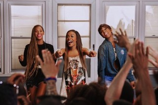 "Destiny's Child Reunite On The Set Of Michelle Williams' ""Say Yes"" Music Video: Get A First Look"