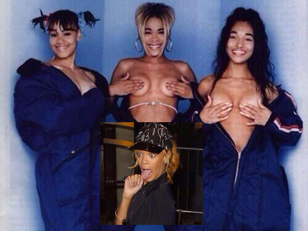 Rihanna Annihilates TLC On Twitter After They Commented On Her Sexy Image: See Her Lethal Shade