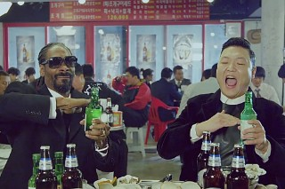"PSY's ""Hangover"" Video: Watch Him Get Hammered With Snoop Dogg"