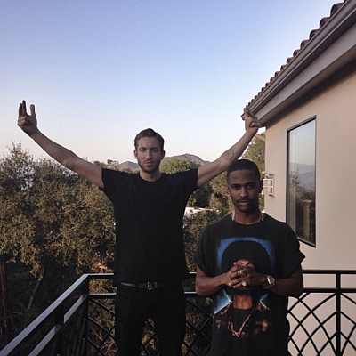 Calvin Harris Big Sean June 2014