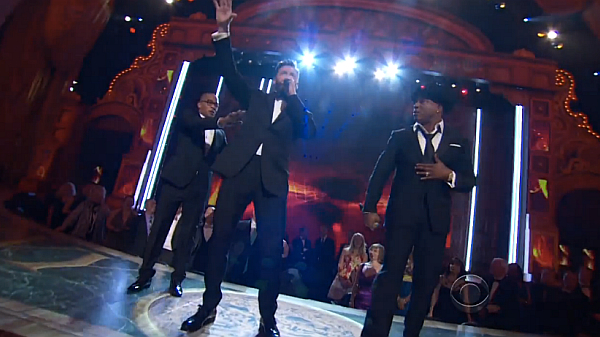 "Tony Awards 2014: Watch Hugh Jackman, T.I. And LL Cool J's ""Rock Island"" Rap From 'The Music Man'"